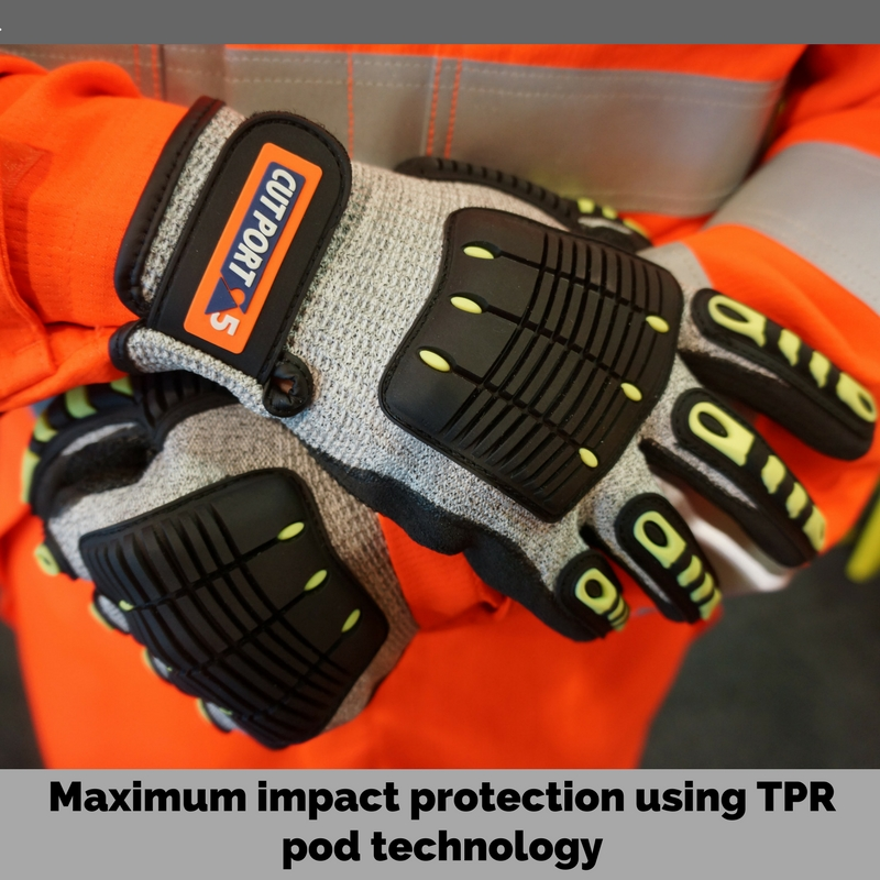 Maximum impact protection using TPR pod technology