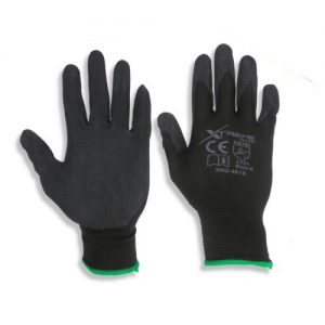 Black Nitrile Safety Gloves 12 pairs (Size- 10/XL)