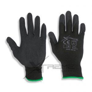 Black Nitrite Coated Safety Gloves