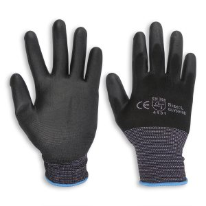 PU Coated Safety Gloves 12 Pairs