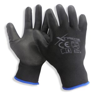Xtreme PU Coated Safety Gloves 12 Pairs