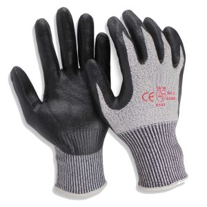 Cut Resistant Level 5 Super Shield Nitrile Gloves