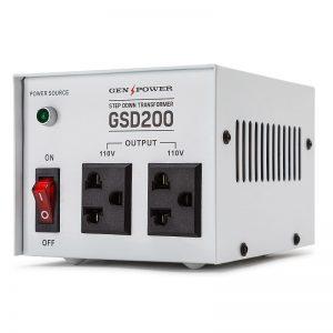 GenPower 200W Step-Down Transformer