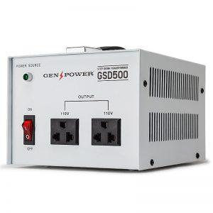 GenPower 500W Step-Down Transformer