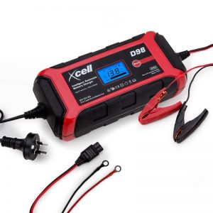Xcell 9-Stage 12V 8A Intelligent Digital Battery Charger