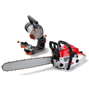 BAUMR-AG 52cc Petrol Chainsaw w/ Sharpener