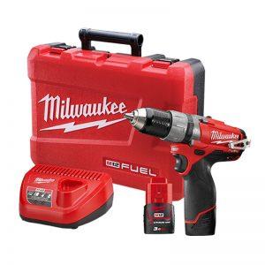 Milwaukee 12V Cordless Hammer Drill Driver Kit