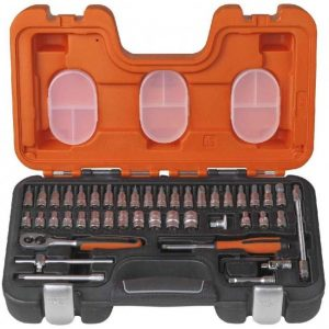 Bahco 46pce 1/4in Drive Socket Set