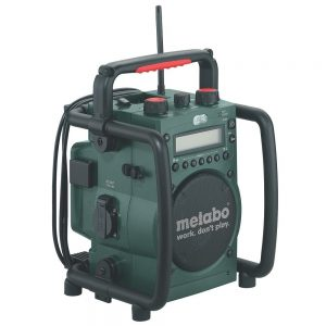 Metabo Cordless Worksite Radio with Inbuilt Charger