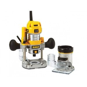 Dewalt 1/4in Premium Plunge and Fixed Base Combi Router