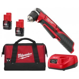 Milwaukee 12V Cordless Right Angle Drill Kit