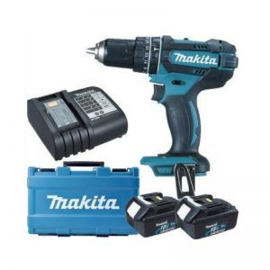 Makita 13MM 65Nm Cordless Hammer Impact Drill Kit