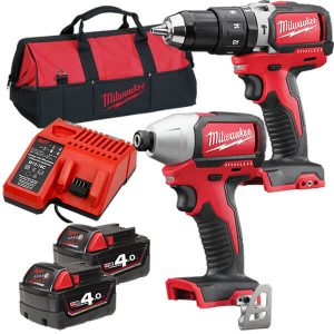 Milwaukee 2 PCE Cordless Power Tool Kit