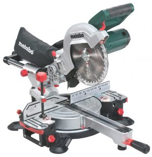 Metabo 1350W 216mm Slide Crosscut Laser Mitre Saw