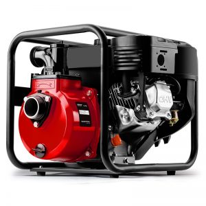 Warton 2in High Flow Petrol Water Pump, Red