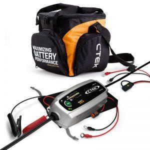 CTEK Bundle Smart Battery Charger MXS3.8