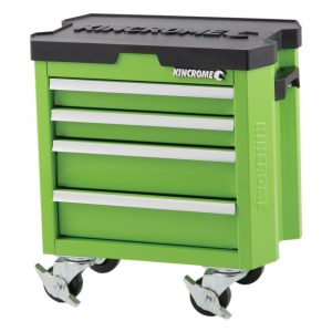 Kincrome Contour Mini Tool Trolley 4 Drawer, Monster Green