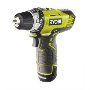 Ryobi 12V Cordless Drill Driver With 2 1.3AH Batteries