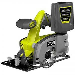 Ryobi One+ 18V 4″ Wet / Dry Tile Saw Skin