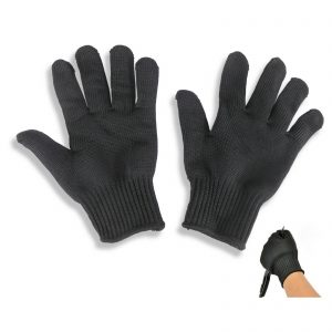 Stainless Steel Wire Cut Resistance Gloves