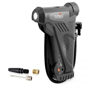 Outbac 12V Cordless Multi-Purpose Air Compressor