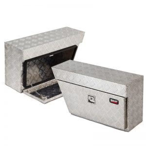 BULLET Aluminium Under Tray Pair UTE Toolboxes