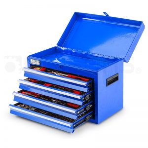 Bullet 319 Piece Tool Kit Chest Blue