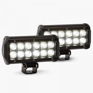 BULLET 2 x 36W CREE LED Light Bar