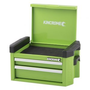 Kincrome Contour Mini Tool Chest 2 Drawer, Monster Green