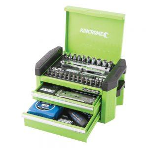 Kincrome Contour Mini Tool Kit 49 Piece 1/4″ Square Drive, Monster Green
