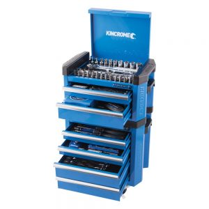 Kincrome Contour Mini Tool Workshop 1/4″ Square Drive, 66 Piece, Blue