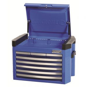 Kincrome Tool Chest Contour 8 Drawer, Electric Blue