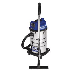 Kincrome 240V/1250W Wet & Dry Garage Vacuum 30L