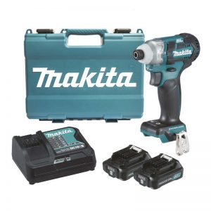 Makita 12 Volt 2.0ah MAX Li-ion CXT Brushless Impact Driver Kit