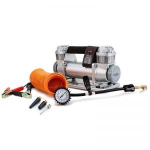 OUTBAC 12V Portable Silver Air Compressor