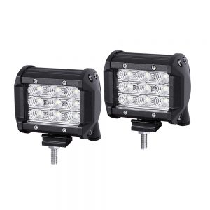 Pair of 4-inch PHILIPS LED Work Flood Light Bar