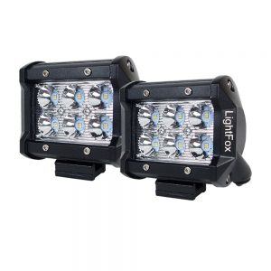 Pair 4inch 30Watt CREE LED Work Light Bar