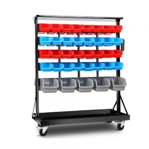 74 Bins Storage Shelving Rack Stand