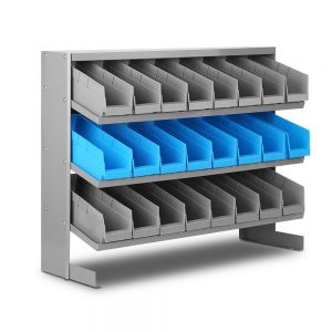 24 Bins Storage Shelving Rack Stand