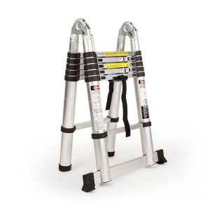 3.8M Alloy Telescopic Multipurpose Folding Ladder