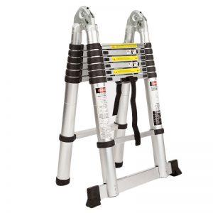 4.4M Alloy Telescopic Multipurpose Folding Ladder