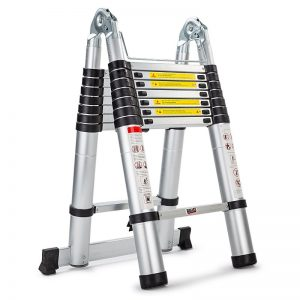 5M Alloy Telescopic Multipurpose Folding Ladder