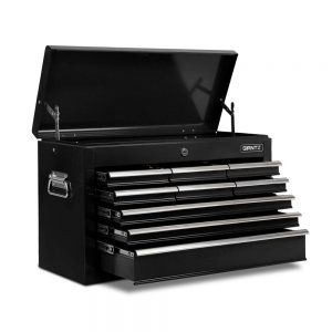 9 Drawers Tool Box Chest – Black