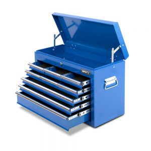 9 Drawers Tool Box Chest – Blue