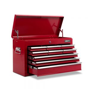 9 Drawers Tool Box Chest – Red
