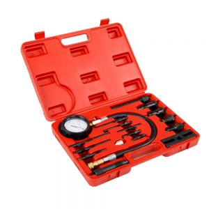 17pcs Diesel Engine Compression Tester Kit