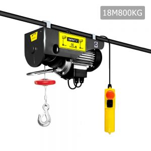 400/800KG 1300W 15M Rope Electric Hoist Winch