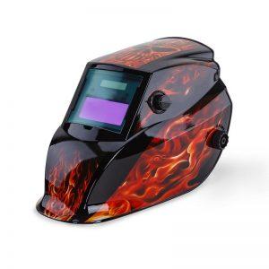 Flame Design Welding Helmet Mask