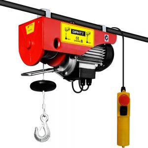 125/250KG 510W 240V 15M Rope Electric Hoist Winch