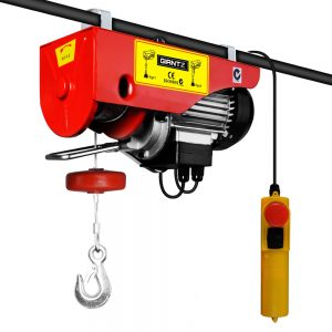 300/600kg 1200w 240v 15m Rope Electric Hoist Winch